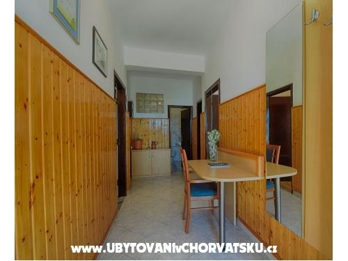 Apartmány Ana - Starigrad Paklenica Chorvatsko