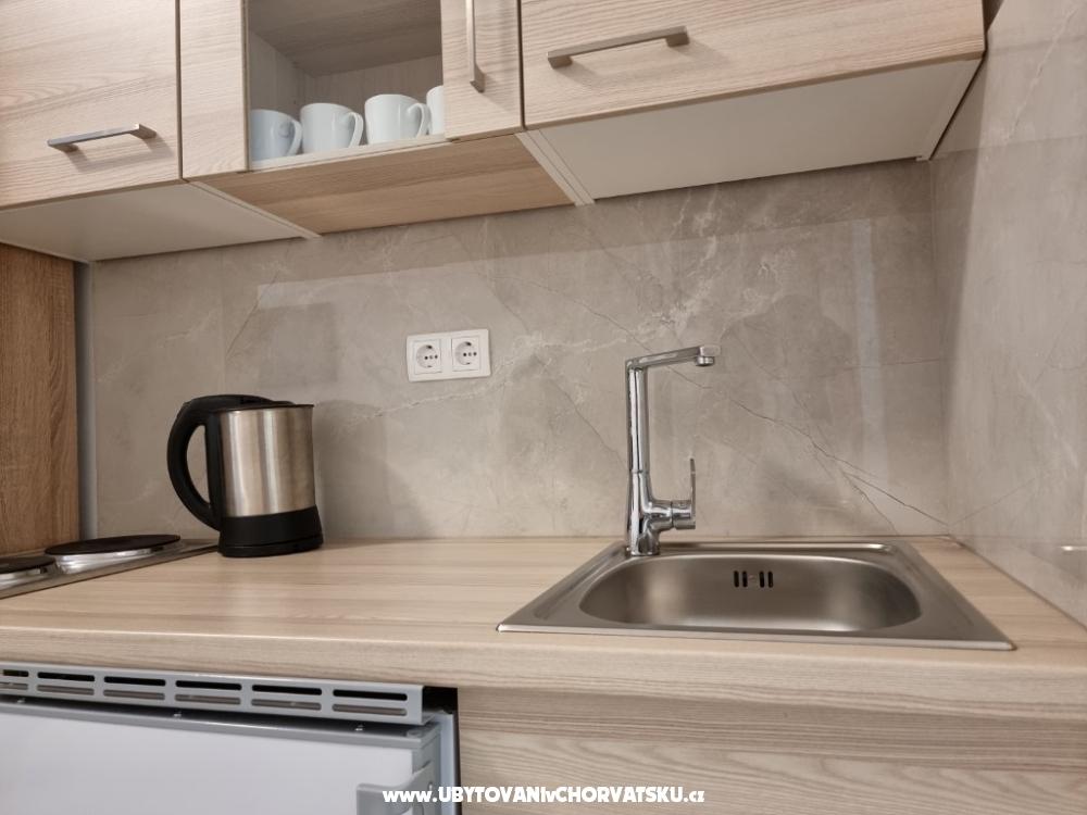 Apartm�ny Cvekan - Starigrad Paklenica Chorvatsko