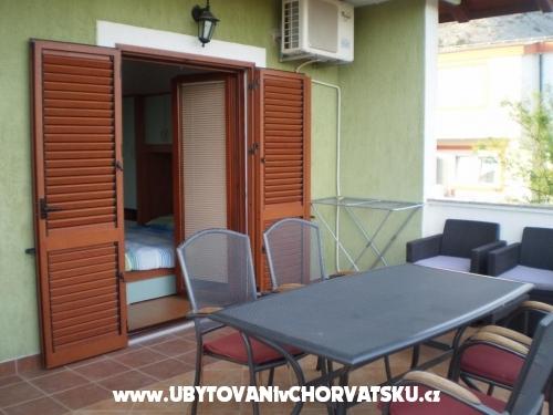 Apartm�ny Lucija - Starigrad Paklenica Chorv�tsko