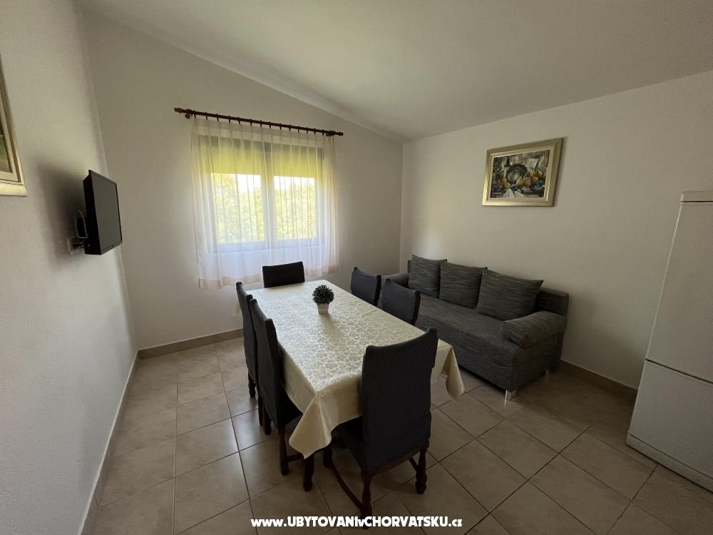 Apartmány Sekana - Starigrad Paklenica Chorvátsko