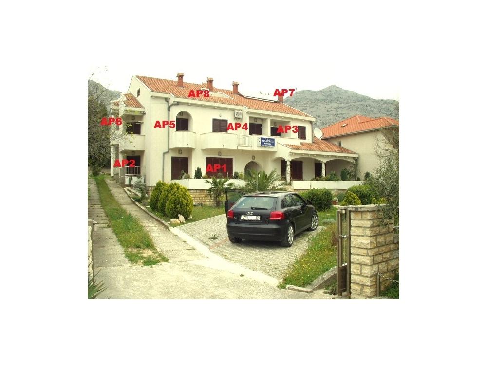Villa Kristina Apartmanok - Starigrad Paklenica Horvátország