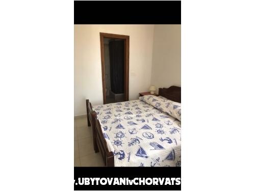 Apartmány Bačkov - Pakoštane Chorvatsko