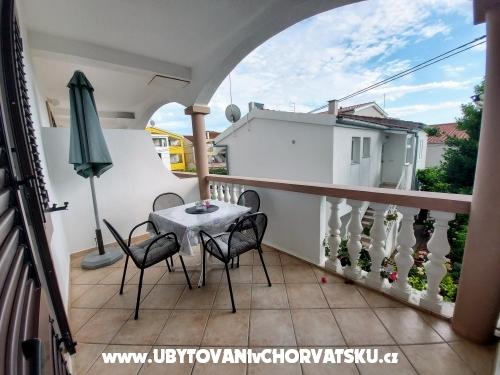Apartmány Ljubica - Pakoštane Chorvatsko