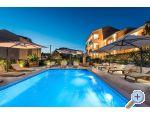Apartmány VILLA  ZDENKA - s bazénem - Pakoštane Chorvatsko