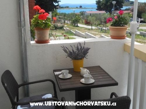 Apartmány Tonči - Pakoštane Chorvatsko