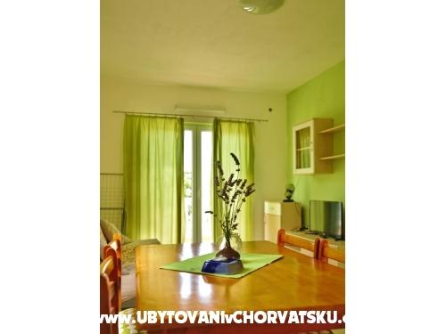 Appartements Tkon-Muscet - ostrov Pašman Kroatien