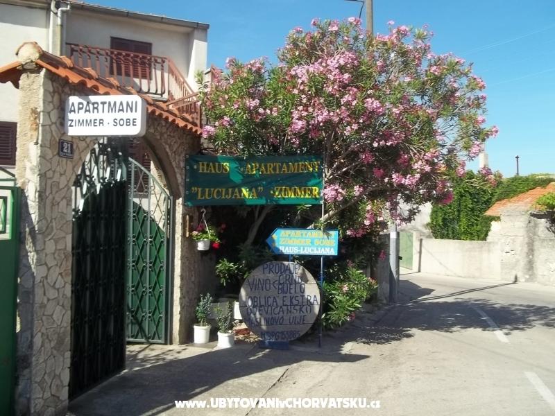апартаменты Lucijana - Pirovac Хорватия