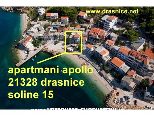 Apartmány Apollo - Podgora Chorvatsko