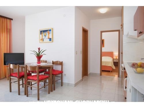 Apartmaji Lucijetić - Podgora Hrvaška