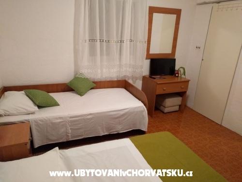 Apartmány Martinovka - Podgora Chorvátsko