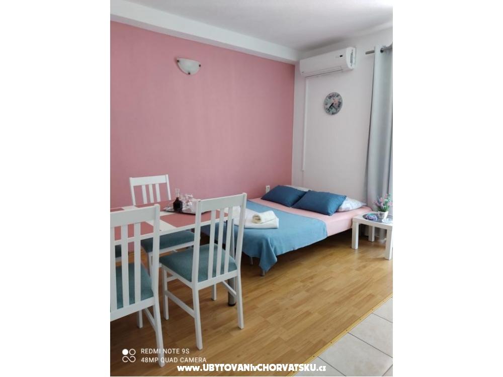Apartmanok Zubac - Podgora Horvátország