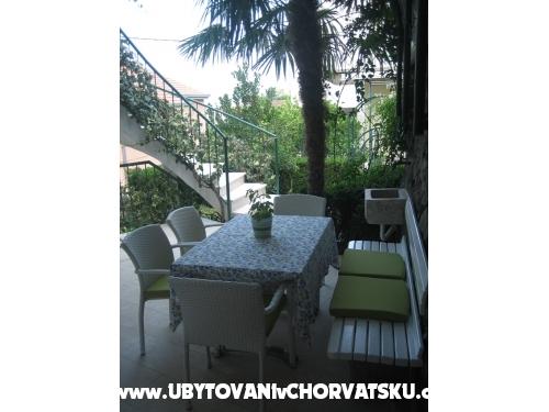 Appartementen Draga - Podgora Kroatië
