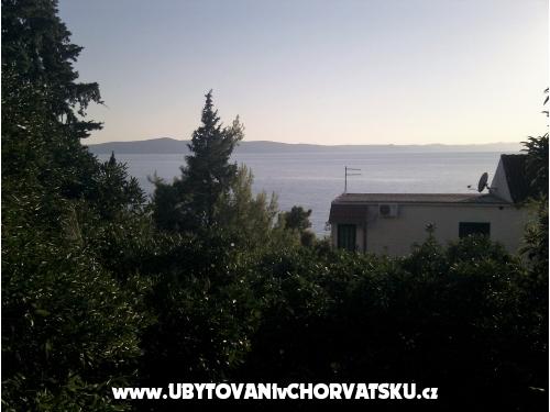 Apartmány Brusje - Podgora Chorvatsko