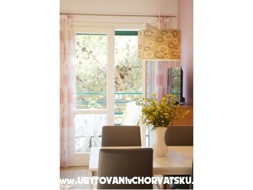 Apartmány Kržanić - Podgora Chorvatsko