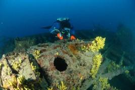 potápění Kaprije: Francesca di Rimini
