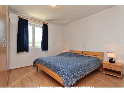 Apartmán Albicia 6+2 - Privlaka Chorvatsko