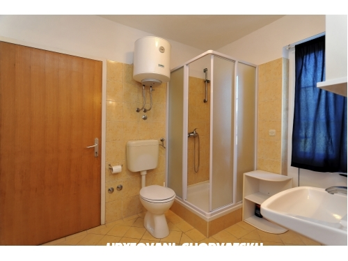 Apartman Albicia 6+2 - Privlaka Horvátország