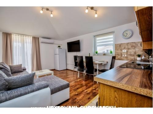 Apartmanok Krizan - Pula Horvátország