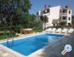Appartement pool Slivar - Pula Kroatië