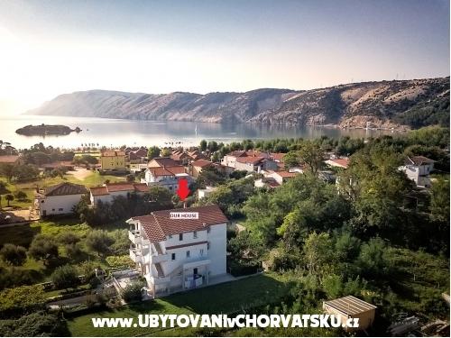 Apartmán Jakuc - ostrov Rab Chorvatsko