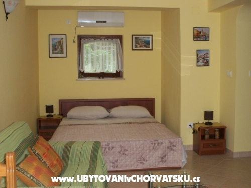 Apartmány Bešić - ostrov Rab Chorvatsko