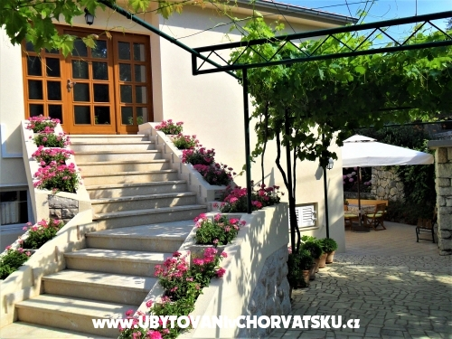 Apartmanok Natalija - ostrov Rab Horvátország