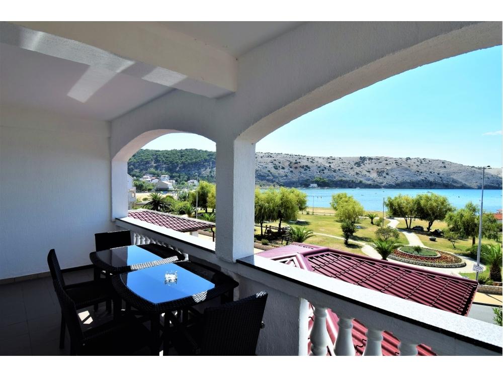 Appartements Sandra - ostrov Rab Croatie