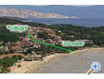 Apartmani Višnja - ostrov Rab Hrvatska