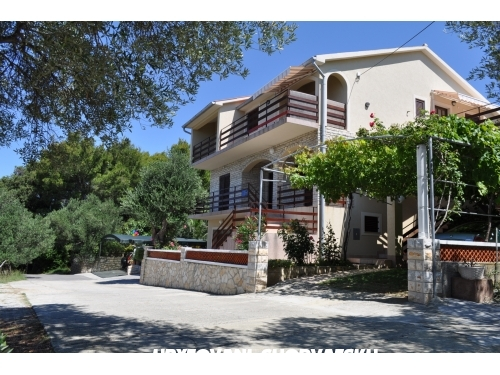 Apartmány Anamar - ostrov Rab Chorvatsko