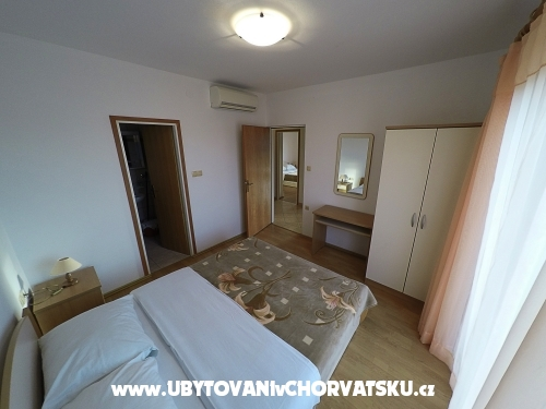 Apartmanok Pi�uljan - ostrov Rab Horv�torsz�g