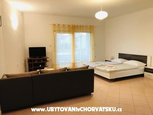 Apartmanok Tariba M&V - ostrov Rab Horvátország