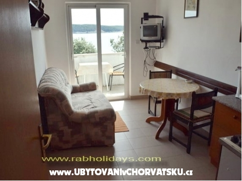 Gonar Apartmány - ostrov Rab Chorvatsko
