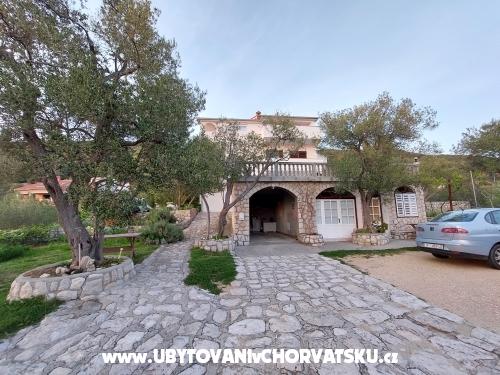 Maison Zorka - ostrov Rab Croatie