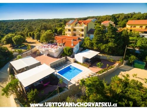 Villa Anka - ostrov Rab Chorvatsko