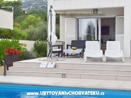 Villa Marija with Pool - ostrov Rab Chorvatsko