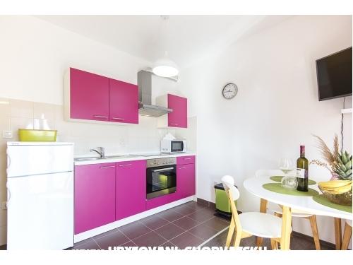 Apartmány CAPE - Ražanac Chorvátsko