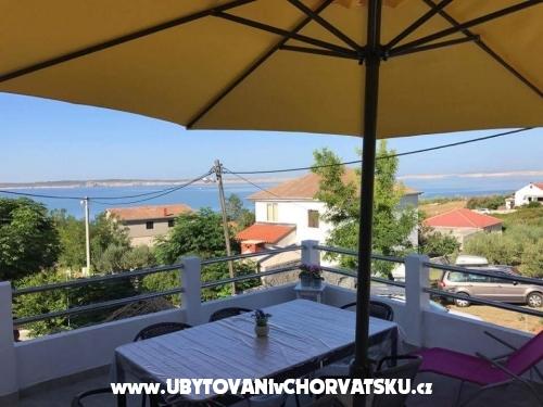 Apartmány Marin Stošić - Ražanac Chorvatsko