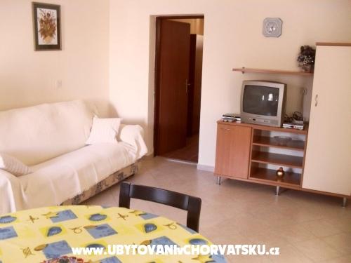 Apartmány Mario - Ražanac Chorvatsko
