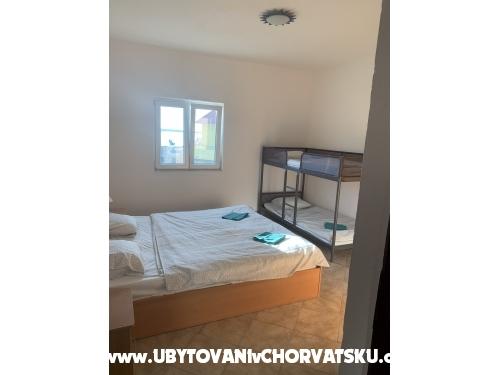 Appartementy Natálie - Ražanac Croatie
