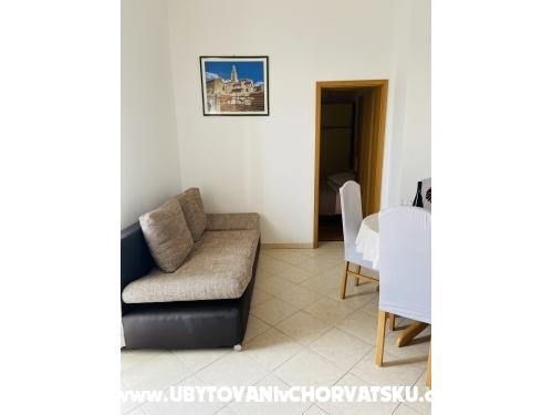 Apartmány Parčina - Rogoznica Chorvatsko