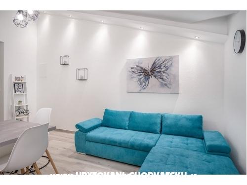 Apartmány Polić - Rogoznica Chorvátsko