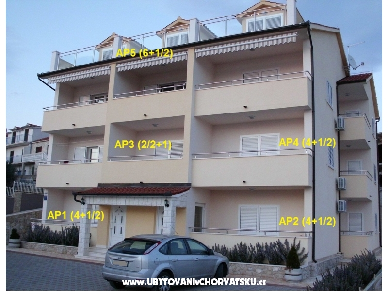 Apartmány Ante - Rogoznica Chorvátsko