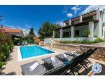 Villa Marina + pool Хорватия rogoznica