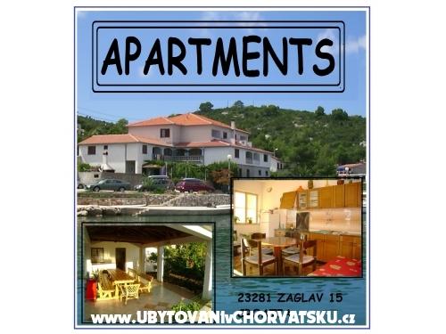 Apartment Zaglav - Sali – Dugi otok Croatia