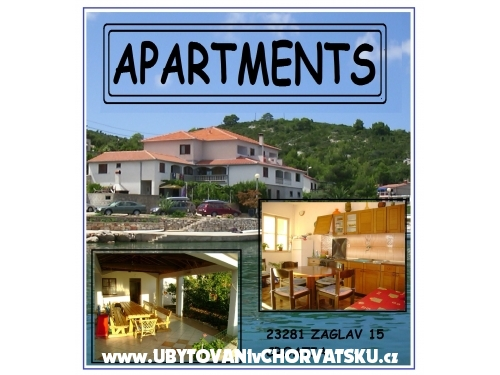Apartma Zaglav - Sali – Dugi otok Hrvaška