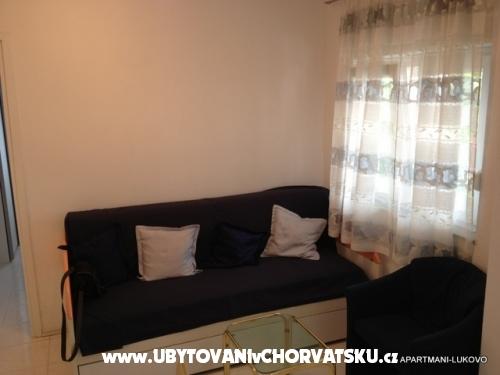 Apartmány Lukovo - Senj Chorvatsko