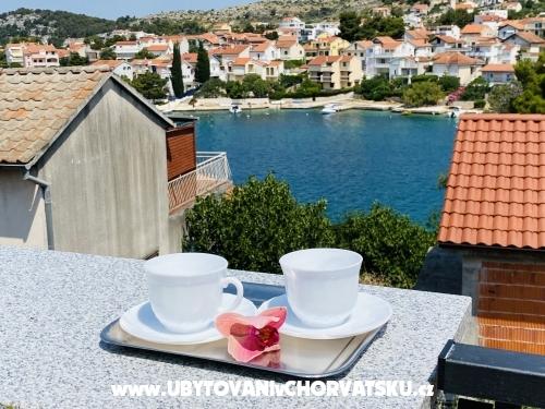 Beach view Ház - Šibenik Horvátország