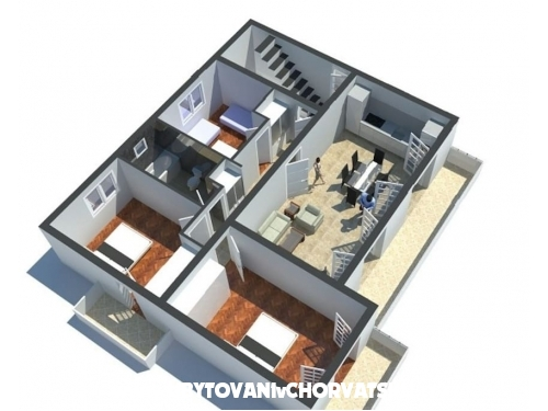 SLOBODAN apartman - Split Хорватия
