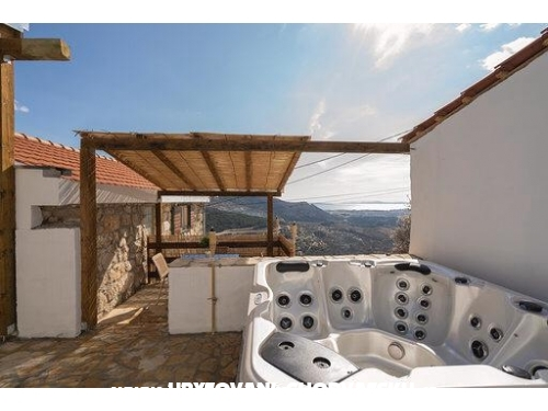 House panoramic view of Split - Split Croatia