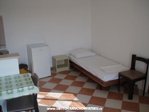 Apartmány pokoje Urlić - Sreser Chorvatsko